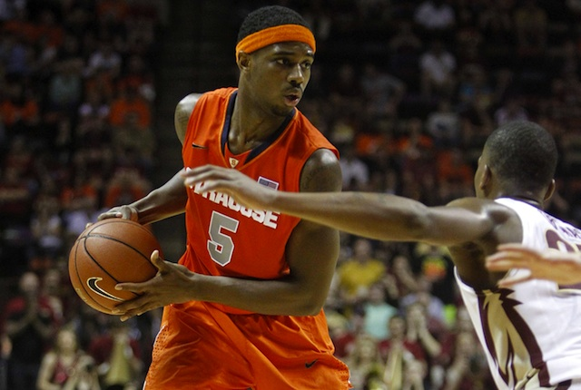 First Team All-ACC pick C.J. Fair leads Syracuse into its first ACC Tournament appearance.  (USATSI)