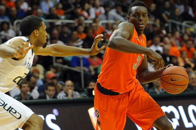 Jerami Grant's injury is a factor to consider in Syracuse's slide. (USATSI)
