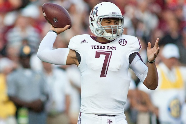 Kenny Hill set school records for passing yards and pass attempts against South Carolina. (USATSI)