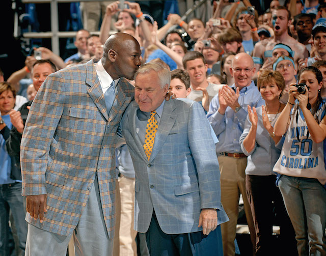 LOOK: Beautiful photos of Dean Smith through the years ...