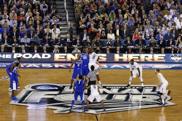 UConn and Kentucky are underway for the national championship.  (USATSI)