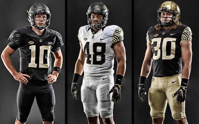 Look Wake Forest Unveils New Uniforms For 2015