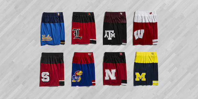57aa3e5ea A look at the shorts for the Made In March series. (adidas)