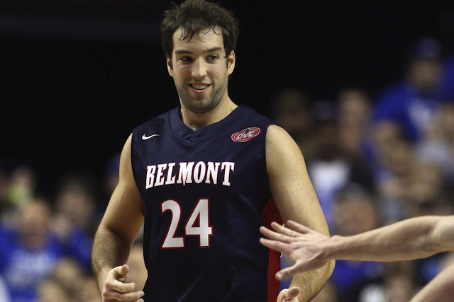 J.J. Mann led Belmont to the No. 1 seed in its second-ever OVC Tournament.  (USATSI)