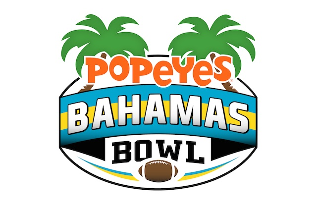 Popeyes will be the title sponsor of the Bahamas Bowl, set for Dec.24 in Nassau. (USATSI)