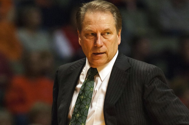 Michigan State coach Tom Izzo thinks Twitter impacts players' frustration with fans.  (USATSI)