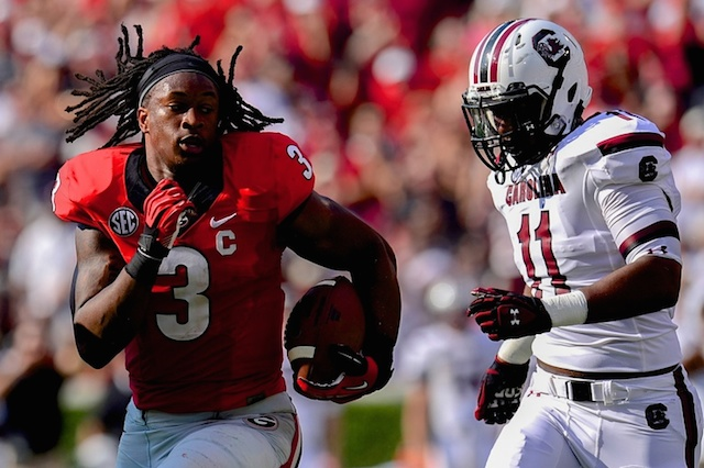 Todd Gurley will headline the first SEC on CBS game of 2014. (USATSI)
