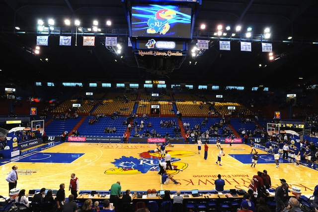 The Jayhawks men's and women's basketball teams will live at the $17 million Fieldhouse Apartments.  (USATSI)