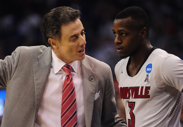 Rick Pitino and Chris Jones lead Louisville into the ACC. (USATSI)
