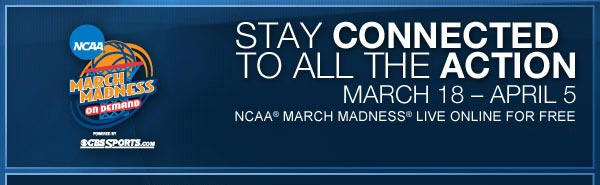 NCAA March Madness On Demand Presented by CBSSports.com