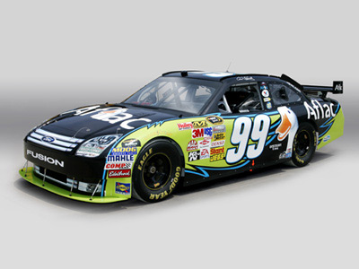 Carl Edwards' car (Aflac Racing Media)