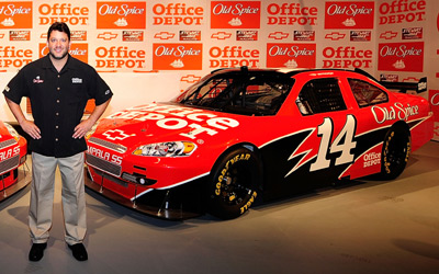 Tony Stewart's Office Depot car (Getty Images)