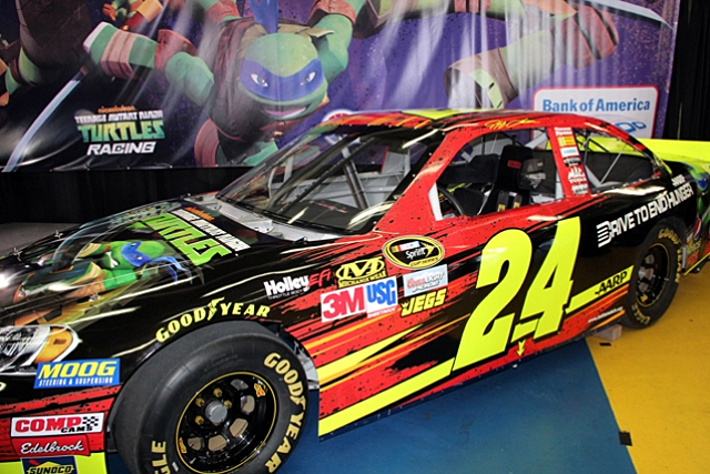 Jeff Gordon, Teenage Mutant Ninja Turtles