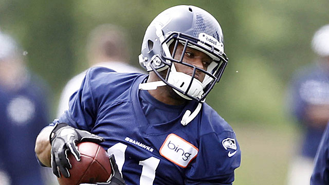 Harvin is pushing hard for an early return to action. (USATSI)
