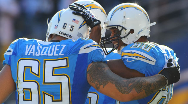 Louis Vasquez is leaving the Chargers for Denver. (USATSI)