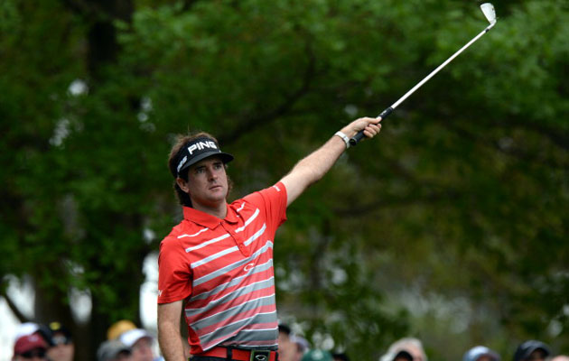 2012 Masters champion Bubba Watson had a bad day Thursday at Augusta. (Getty Images)