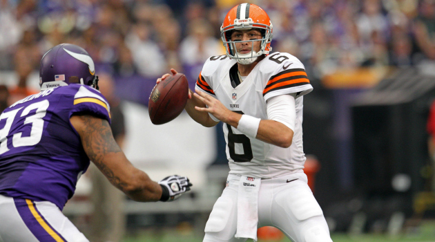 Brian Hoyer, the face of the non-tanking Browns.