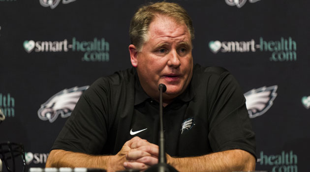 Chip Kelly is getting trial by fire in the NFL with his tough 2013 NFL schedule. (USATSI)