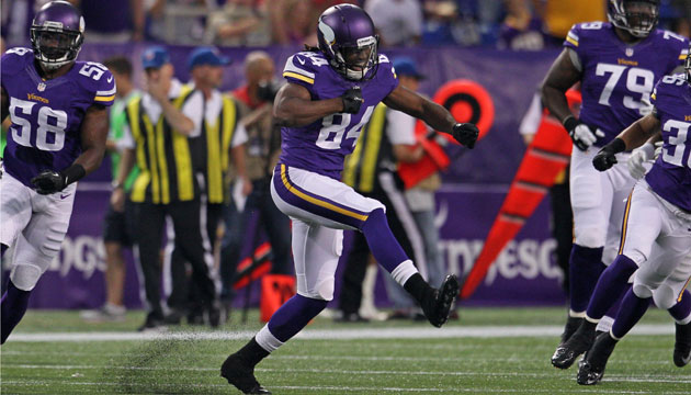 Cordarrelle Patterson should have Vikings fans excited.