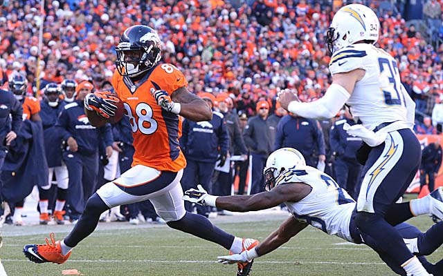 The Broncos breeze past the Chargers in Week 8. (USATSI)