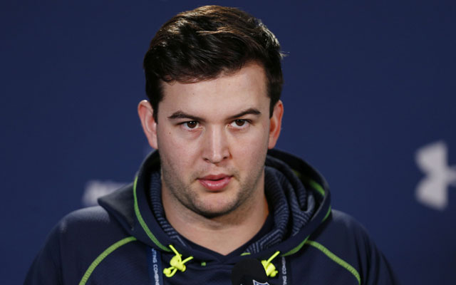 A.J. McCarron thinks he'll be drafted between No. 16 and 35.