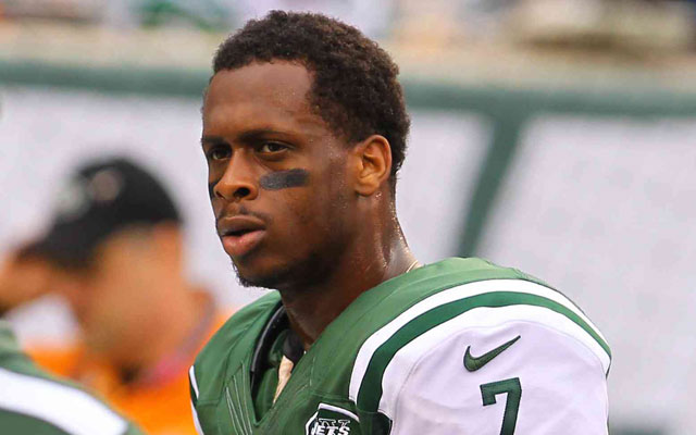 Geno Smith says says Michael Vick is 'my guy' and welcomes competition.