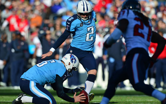 Rob Bironas was cut by the Titans on Wednesday.