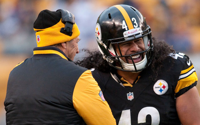 According to a report the Steelers won't be cutting safety Troy Polamalu.