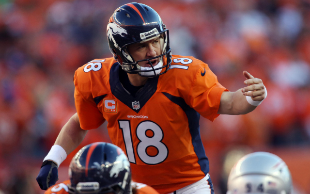 The Denver Broncos will wear orange jerseys in SB XLVIII.