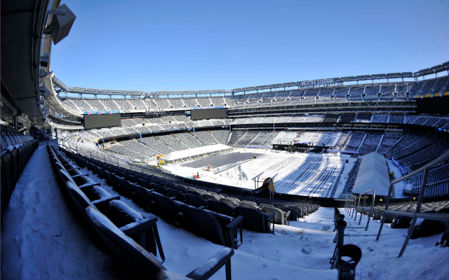 Some snow or showers could be in the forecast for Super Sunday, Feb. 2.