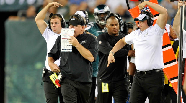 Chip Kelly's new offense has everyone up in arms.