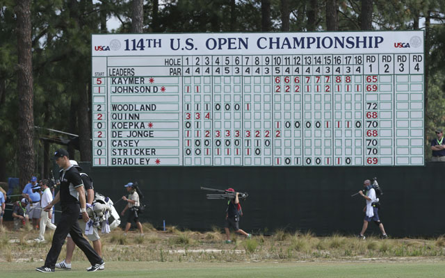 Martin Kaymer lit up the scoreboard at the 2014 US Open. (USATSI)