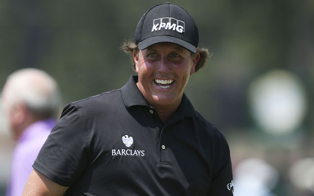 Phil Mickelson continued to state he's done nothing wrong with the SEC or FBI. (USATSI)