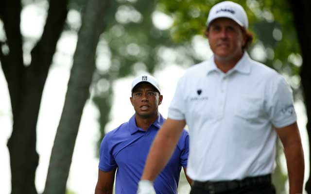 Tiger and Phil head in separate directions at Valhalla.