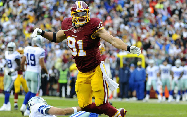 The Redskins picked up the fifth-year option on Ryan Kerrigan Friday.