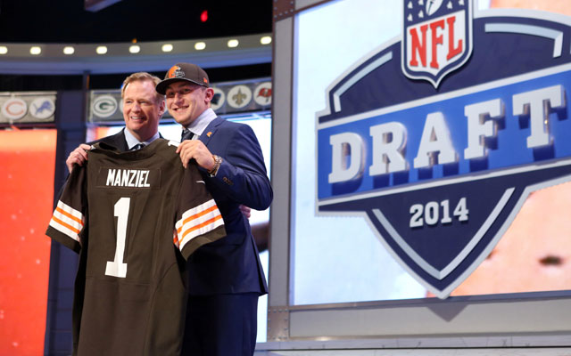 The NFL could start its 2015 draft on April 30.
