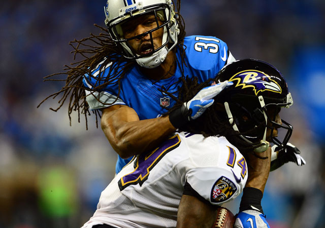 Rashean Mathis is back with the Lions on a one-year deal.
