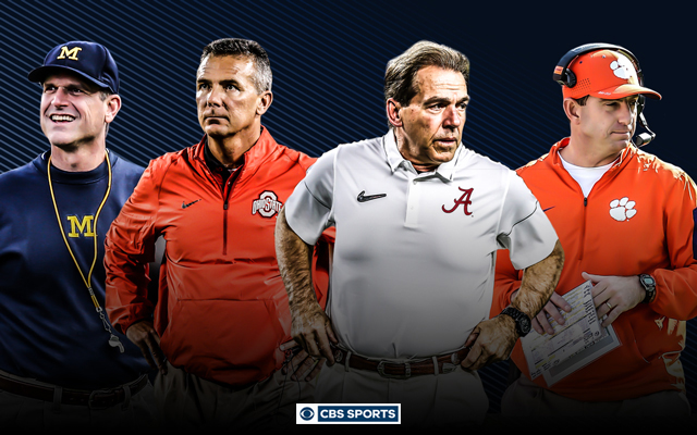 These are the top 25 coaches in college football. (CBS Sports Graphic)