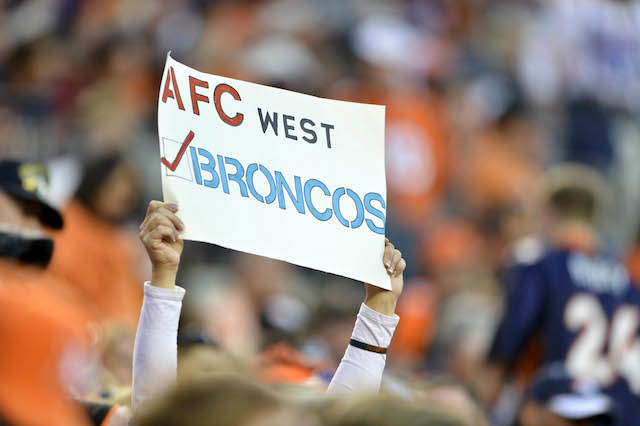 This sign might need a checkbox for the Chiefs and Chargers. (USATSI)