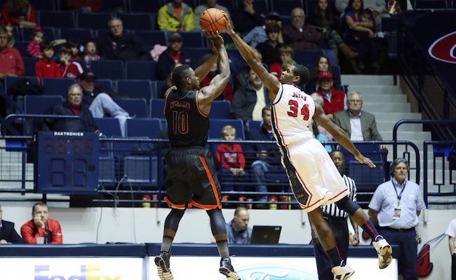Mississippi forward Aaron Jones will miss some time for the Rebels. (USATSI)