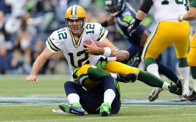 Aaron Rodgers could open up the 2014 season in the stadium that made simultaneous possession famous. (USATSI)