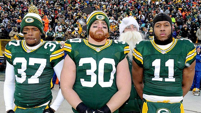 Aaron Rodgers is a true master of disguise. (Packers.com)