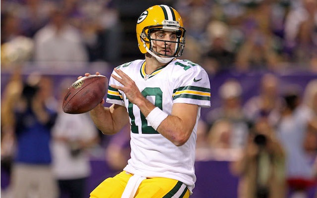 Packers make it official: QB Aaron Rodgers will start vs. Bears