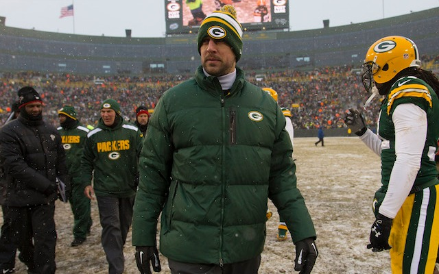 A talkative teammate says that Aaron Rodgers took first-team reps in practice on Wednesday. (USATSI)