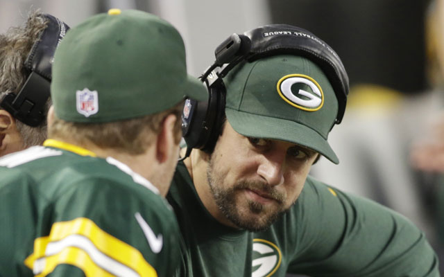 Aaron Rodgers said he should know by Thursday whether he can play Sunday. (USATSI)
