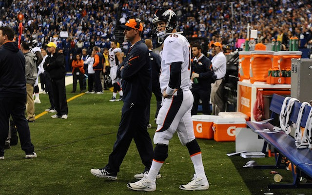Adam Gase likely won't go to Cleveland because he wants another season with Peyton Manning. (USATSI)