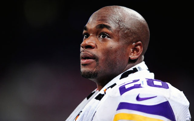 Adrian Peterson's relationship with the Vikings continues to deteriorate. (USATSI)