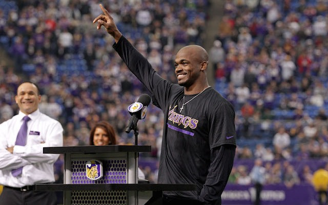 Adrian Peterson calls the latest lawsuit against the NFL an 'unfortunate situation.' (USATSI)