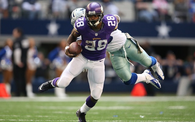 Adrian Peterson thinks it would be 'cool' to play in Dallas or Houston. (USATSI)