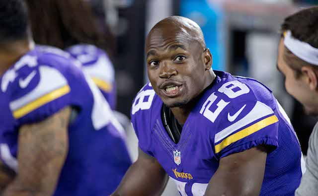 Adrian Peterson is pumped up about the Vikings offense this season.